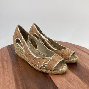 Donald J. Pliner Shoes Coraa Wedge Sandal Cork